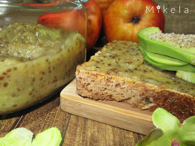 mermelada-de-pera-con-chia-mikela
